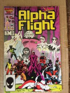 Alpha Flight #33
