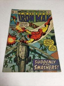 Iron Man 31 Fn Fine 6.0 Marvel Comics