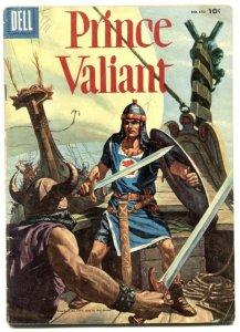 Prince Valiant-Four Color Comics #650 1955--Hal Foster- VG
