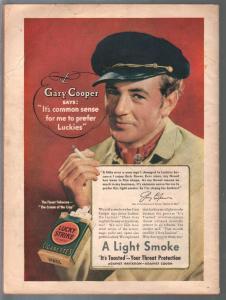 Liberty 6/24/1937-Kauffmann pin-up girl sailboat cover-pulp fiction-ads-P