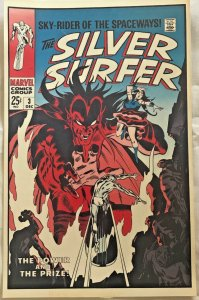 SILVER SURFER#3 LAMINATED CLASSIC FOOM POSTER EXCELLENT CONDITION