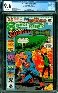DC Comics Presents #26 CGC Graded 9.6 1st app. of New Teen Titans in preview ...