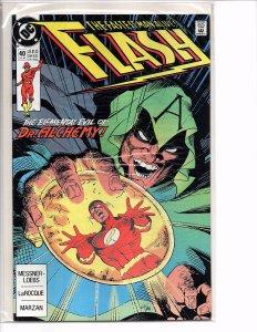 DC Comics Flash #40 Flash [Wally West]; Dr. Alchemy