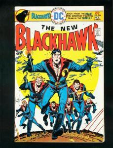 BLACKHAWK #244 1976-DC COMICS-JOE KUBERT-GEORGE EVANS-very fine VF