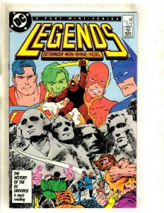 Legneds # 3 VF- DC Comic Book 1st Appearance Suicide Squad Key Issue J383