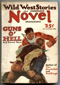 Wild West Stories & Complete Novel Pulp November 1928