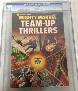 Mighty marvel Team-up Thrillers Fireside 1 NN Cgc 9.6 Highest Graded 1 Of A Kind