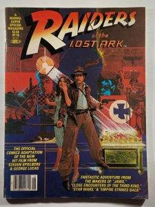 Marvel Comics Super Special #18 Raiders of the Lost Ark Indiana Jones 1981 Mag