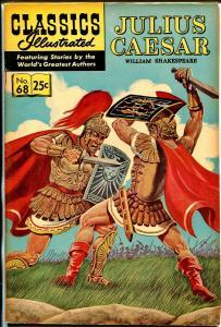 Classics Illustrated #68 1967-Gilberton-Julius Caesar-HRN 166-VF
