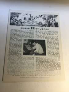 The Burroughs Bulletin 18 Nm Near Mint Magazine