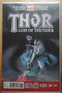 Thor: God of Thunder #6 (2013) First Print !!