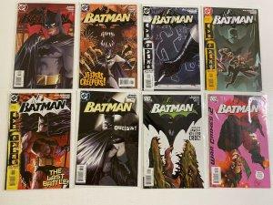 Batman lot #627-697 + Special DC 27 pieces avg 7.0 (range 6.0-8.0) (2004-'10)