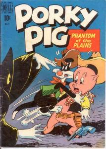 PORKY PIG (1942-1962 DELL) F.C. 271 G-VG  1950 COMICS BOOK