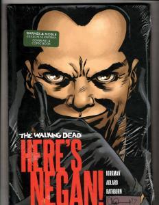 Lot Of 2 Here's Negan Image SEALED Comic Books HARDCOVER Graphic Novel J345