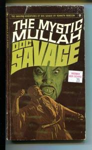 DOC SAVAGE-THE MYSTIC MULLAH-#9-ROBESON-G-COVER JAMES BAMA G