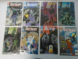 Batman comic lot 42 different from #450-499 avg 6.0 FN (1990-93)