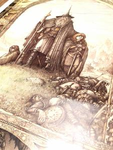 Lord of the Rings 1988 27x39 J.Cauty Poster