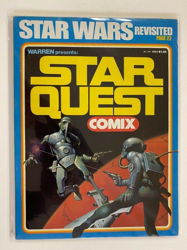 Star Wars Star Quest Comix Warren #1 6.0 FN (1978)