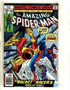 Lot Of 5 Amazing Spider-Man Marvel Comic Books # 182 183 184 185 186 Goblin GK5