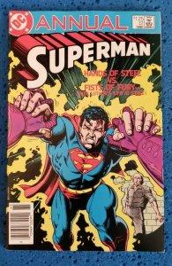 Superman Annual #12 (1986) VF+ 8.5 Brian Bolland cover