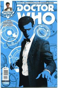 DOCTOR WHO #14 B, VF/NM, 11th, Tardis, 2014, Titan, 1st, more DW in store,Sci-fi