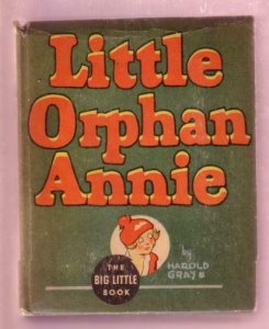 LITTLE ORPHAN ANNIE, PUNJAB THE WIZARD, 1935, #1162 BLB FN/VF