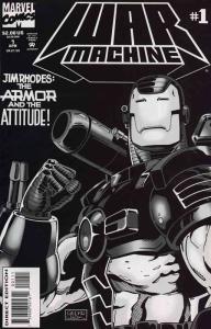 War Machine #1 FN; Marvel   save on shipping - details inside