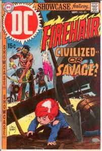 SHOWCASE 85 F-VF FIREHAIR BY KUBERT  September 1969 COMICS BOOK