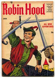 ROBIN HOOD #53 TV SERIES FRANK BOLLE ART DAVY CROCKETT VG