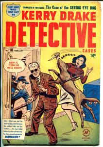 Kerry Drake Detective Cases #18 1950-Harvey-Bob Powell-Kitty Carson-Andriola-VG