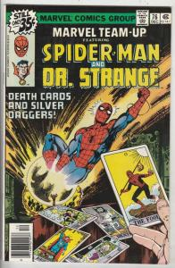 Marvel Team-Up #76 (Dec-78) NM+ Super-High-Grade Spider-Man