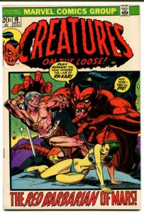 Creatures On The Loose #19 (VF+) 1972 Gil Kane Bronze Age Marvel ID001
