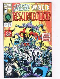 Silver Surfer/Warlock Resurrection #2 VF/NM Marvel Comic Book Apr DE41 AD18
