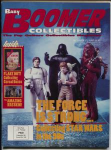 Baby Boomer Collectibles 12/15/1995-Star Wars toys-cereal boxes-FN