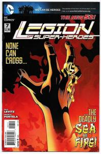 New 52 Legion of Super-Heroes #7 (DC, 2012) VF
