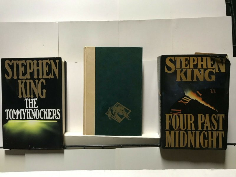STEPHEN KING LOT of 3 HARDCOVER BOOKS FINE or BETTER READING CONDITION 1st Eds