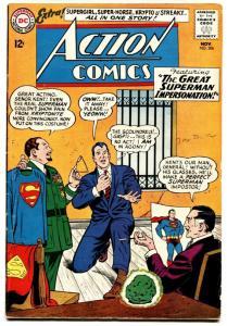 ACTION COMICS #306 comic book 1963-Superman-Kryptonite cover-SUPERGIRL