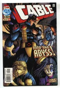 CABLE #40 comic book 1st appearance of Abyss, Nightcrawler's half-brother