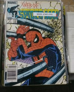 Web of spider-man # 4 1985 marvel  -mark jewelers variant doctor octopus
