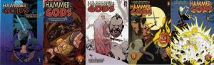 HAMMER OF THE GODS (2001 INSIGHT) 1-5  COMPLETE!