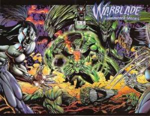 Warblade: Endangered Species #4, NM + (Stock photo)