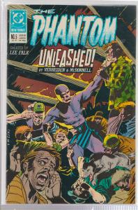 THE PHANTOM #5 - THE PHANTOM UNLEASHED. - BAGGED & BOARDED - DC COMICS
