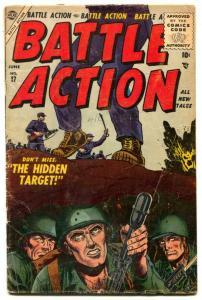 Battle Action Comics #17 1955- hidden Target G/VG