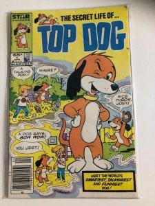 TOP DOG: SECRET LIFE OF  #1 1985 MAERVEL / NEWSSTAND / VF+/-