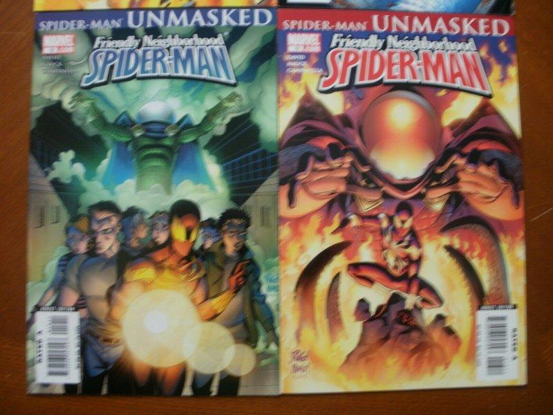 4 Near-Mint Marvel Comic: FRIENDLY NEIGHBORHOOD SPIDER-MAN #10 11 12 13 Goblin