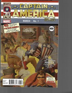 Captain America #1 (Marvel, 2011) VF/NM