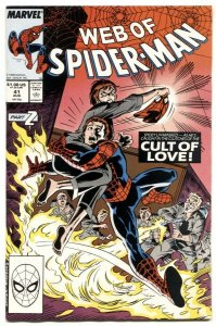 Web Of Spider-man #41 1988- Marvel comics- NM-