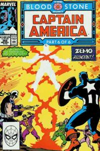 Captain America (1st Series) #362 VF/NM; Marvel | save on shipping - details ins