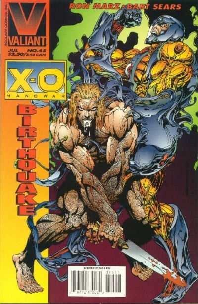 X-O Manowar (1992 series) #45, NM- (Stock photo)