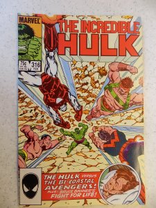 INCREDIBLE HULK # 316